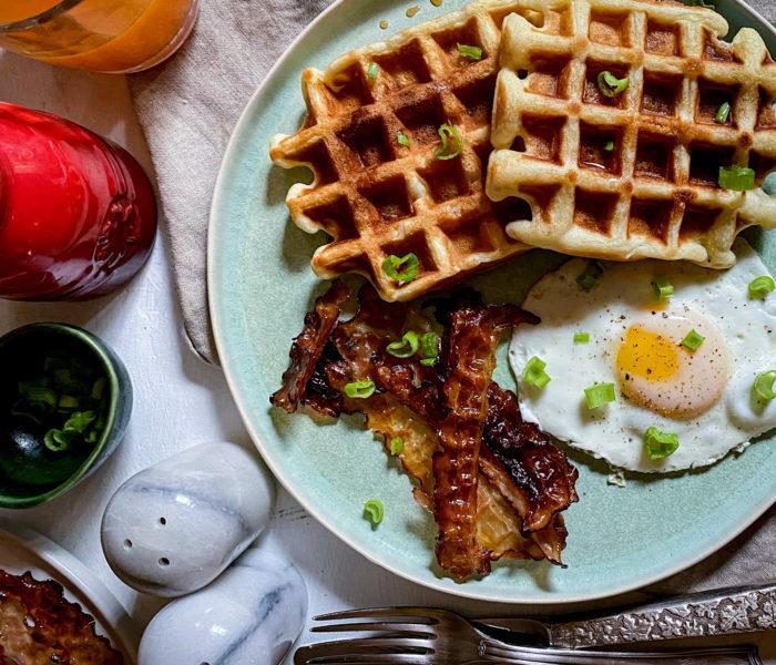 Waffles, ricetta base