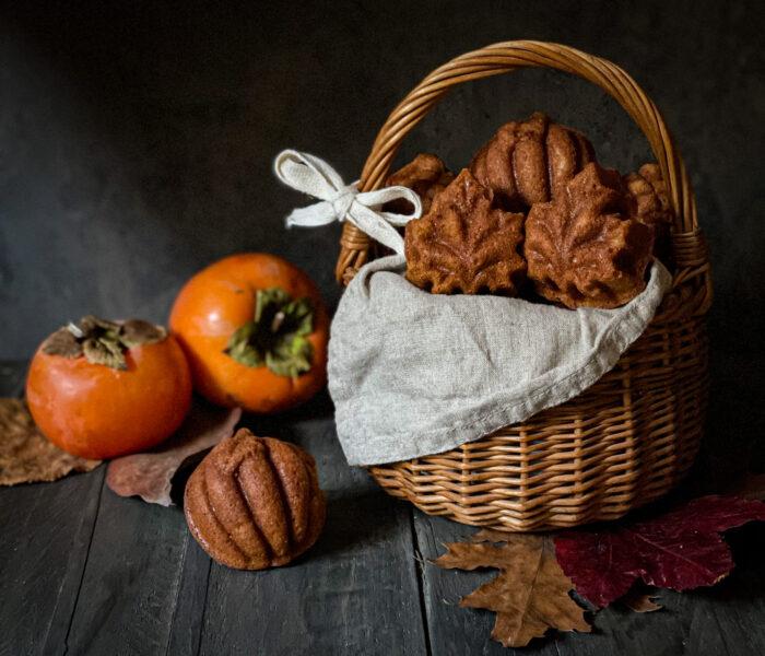 FALL CAKELETS: tortine autunnali ai cachi