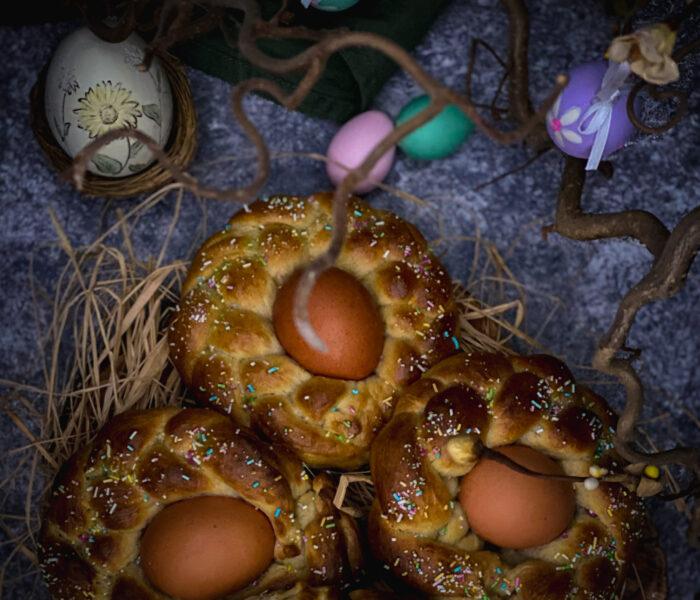 Brioche di Pasqua: un intreccio tutto da mordere