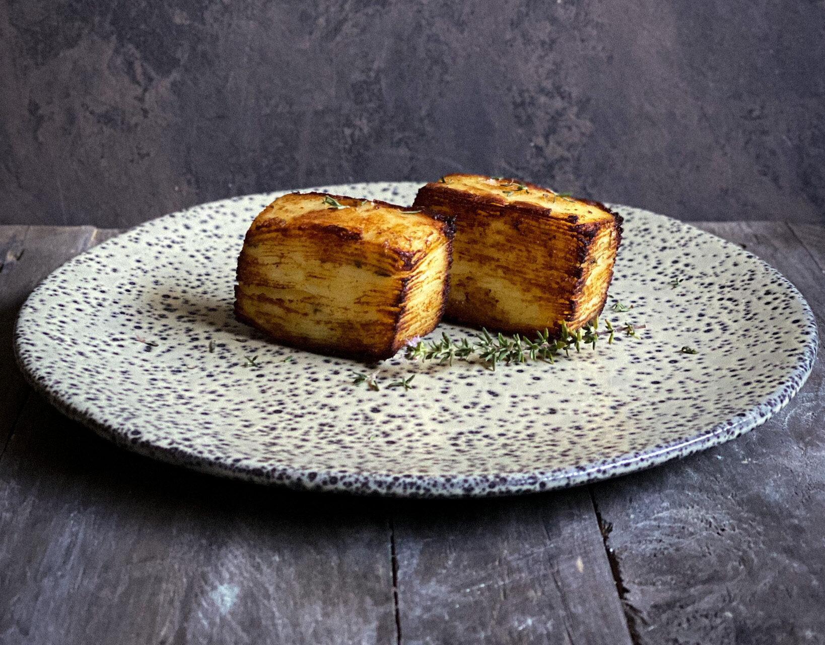 Potato Pavé: un piatto stellato home made