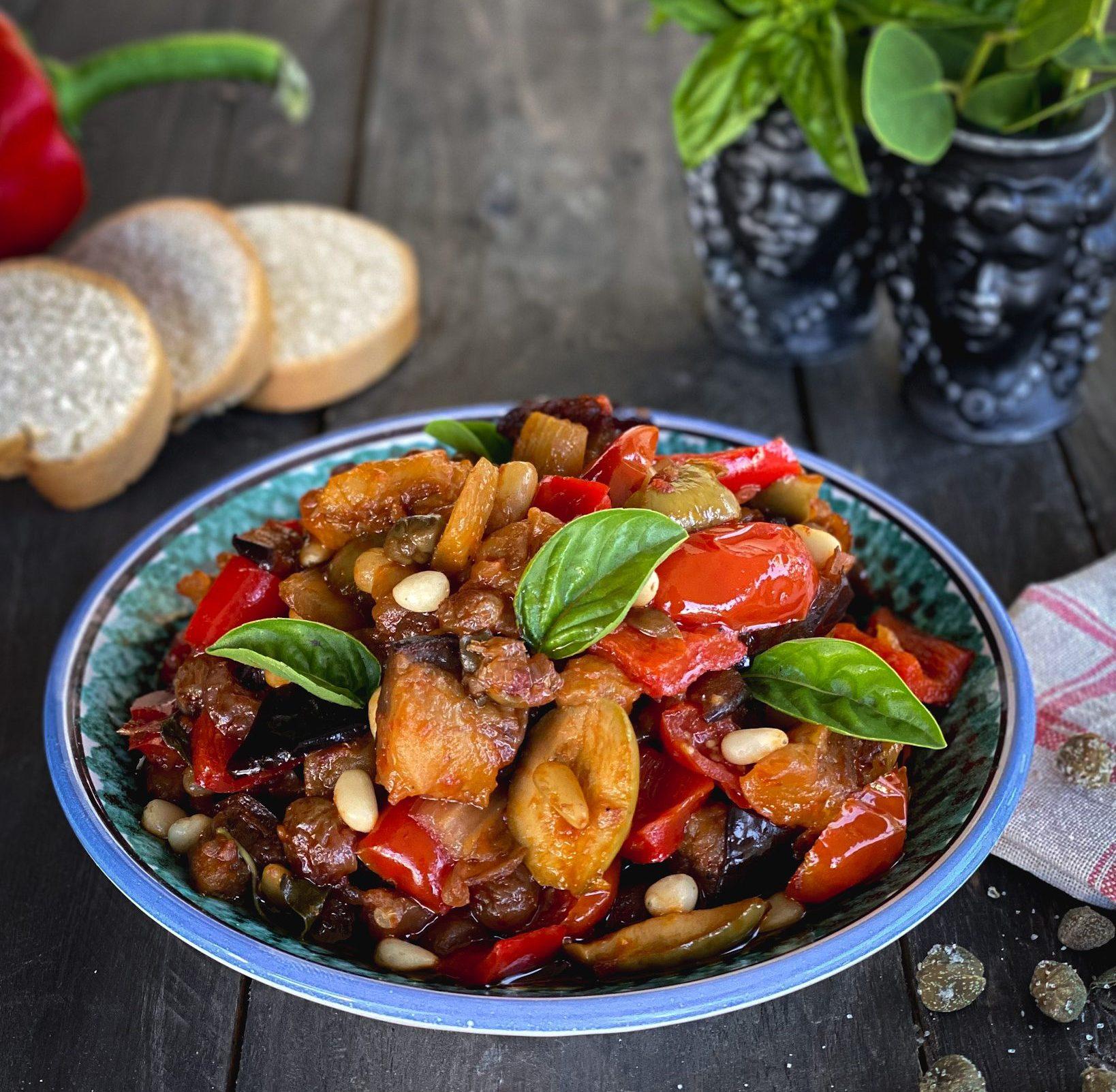 La Caponata: ricetta tradizionale siciliana!